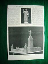 Nel 1924 Mantova monumento a Virgilio+ il tenore Miguel Fleta