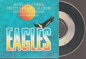 Eagles Hotel California Cd Single Cardsleeve