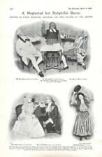 1908 Stock Exchange Dramatics Society Opera Mirette, Street Crowd Monrovia