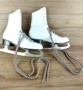 vintage Lake Placid ice skating shoe Size 10