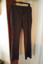 ladies Worthington size 12 black striped dress pants
