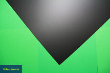 Kunststoffplatten PE-HD Polyethylen Platte 3 mm schwarz Größe 1000 x 495 mm