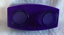 Creative Memories Purple Double Paper Punch - Heart & Flower