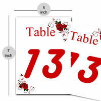Wedding Place Card Name Card Paper Note Table Number Wedding Table Invitation