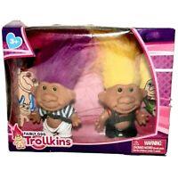 Fairly Odd Trollkins Doll 2 Figures Set New In Box Age 3+ Troll
