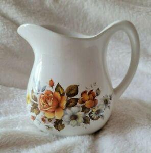 Ceramic Floral Transfer wear Creamer Made in USA