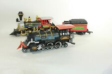 Vtg G Scale New Bright 2 Steam Locomotives 2-6-2 Great American Express D&W RR