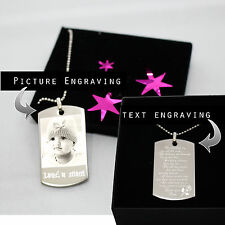 Luxury Dog Tag Necklace Personalized Name Gifts Chris v3