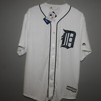 MLB Majestic Detroit Tigers Baseball Jersey New Mens Sizes