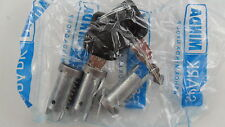 Barril 3 2 Teclas Lock Set Nuevo En Bolsa Sellada VESPA PX T5 Pk LML Star Stella S XL