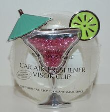 BATH & BODY WORKS MARGARITA BEADS SCENTPORTABLE HOLDER CAR VISOR CLIP FRESHENER