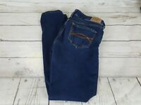 Abercrombie & Fitch Blue Wash Super Skinny Stretch Women Jeans Size 0S 25 x 29