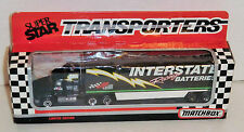 Dale Jarrett #18 Interstate 1992 1/87 Matchbox Super Star Team Transporter.
