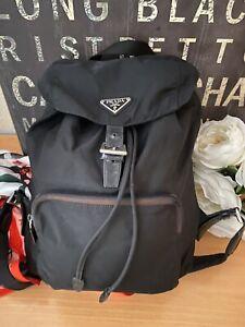 Authentic Vintage Classic PRADA Nylon Backpack Black