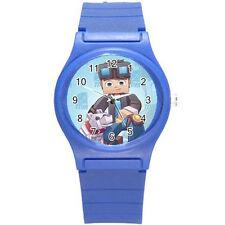 DanTDM The Diamond Minecart Boy Girl Kid Wristwatch Watch B