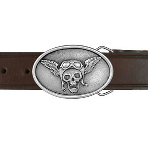 Skull Wings and Goggles Buckle and Belt 05-MC6B IMC-Retail