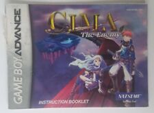 CIMA The Enemy MANUAL NO GAME (Nintendo Game Boy Advance GBA)