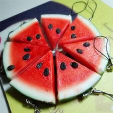 LC_ Simulation Fruit Cute Watermelon Pendant Cellphone Strap Purse Bag Key _GG