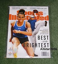 2017 SYDNEY MCLAUGHLIN~MACKENZIE GORE~SPORTS ILLUSTRATED~ATHLETES OF THE YEAR