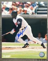 Mo Vaughn Autographed Signed 8x10 Photo Anaheim Angels