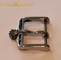 Very Rare Vintage Rolex  Stainless Steel Big Crown Watch Buckle Stunning Item
