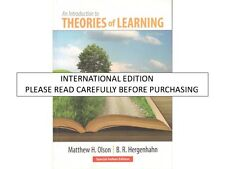 Introduction to Theories of Learning by Matthew H. Olson