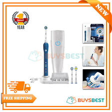 Oral-B Toothbrush with Bluetooth Pro5000 Cross Action Electric Rechargeable