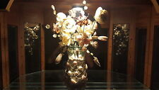 Hand crafted Florida Atlantic seashell floral arrangement
