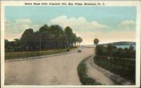 Brooklyn NY Shore Road From Crescent Hill Bay Ridge c1920 Postcard