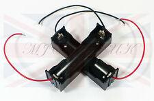 Hágalo usted mismo plástico de la batería de almacenamiento con contactos Funda Caja Soporte Para 1 X 18650 Del Reino Unido Stock Reino Unido
