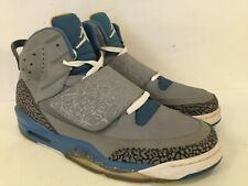 Air Jordan Son Of Mars Stealth Men size 12 Gray Shaded Blue Gold 512245-037