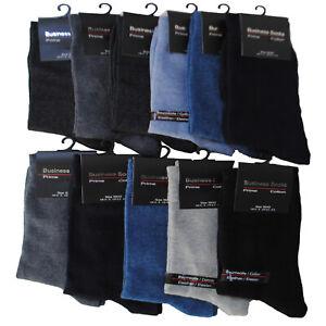 10-20 Paar Herren Business Socken Baumwolle Strümpfe Baumwollsocken mit Gummi