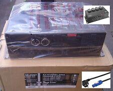 Hochleistungs-Dimmer Monacor DP-4DMX 4-Kanal DMX / 3680 Watt NEUTRIK -POWER-CON