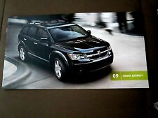 2009 DODGE JOURNEY SALES BROCHURE for FULL PRODUCT LINE-NEW