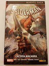 El Asombroso SPIDERMAN Caceria macabra Marvel Saga comics tapa dura en español