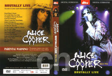 ALICE COOPER - Brutally Live (2000) DVD NEW