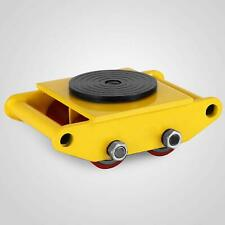 Machinery Mover Skate Dolly Cap 6T/13200lbs with 4 Rollers 360°Rotation