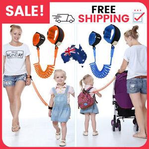 Baby Toddler Kid Strap Wrist Leash Safety Walking Anti-Lost Harness Hand Belt AU