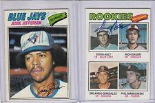 1977 Topps signed Doug Ault autograph  Blue Jays  w/COA