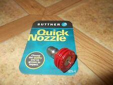 New Suttner Pressure Washer 1/4 Quick Connect Nozzle 0 Deg x 4.5 Red N900000 D45