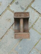 More details for vintage avery cast 28lb weight- doorstop? (514g)