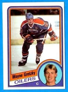 1984-85 Topps WAYNE GRETZKY (Edmonton Oilers) Card # 51 (ex-mt) (D)