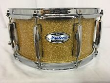 """Pearl Masters Complete MCT 14"""" X 6.5"""" Snare Drum/#347/Bombay Gold Sparkle/New"""