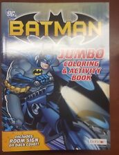 Lot Of 24 NEW DC Batman Jumbo Coloring Activity Books