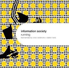 INFORMATION SOCIETY Running w VICTOR CALDERON & ROBBIE RIVERA MIXES CD PAUL ROBB