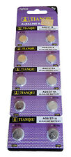 100 TIANQIU AG6 371A 371 370 SR69 LR920 SR920 SR920SW Alkaline Watch Battery USA