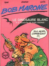Pastiche BOB MORANE Marone Parodie EO YANN CONRAD LUCIE le dinosaure Blanc