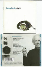 """George Martin """"in My Life"""" CD 1998 Jeff Beck/sean connery/phil collins"""