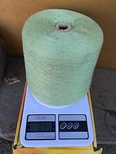 """Silk & Cashmere blend Yarn cone  color in  lime """" for sale """""""