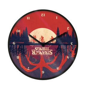 Boxed Licensed Clock Gift - Stranger Things Upside Down Clock - 85455